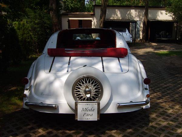 wynajem samochodu do ślubu warszawa